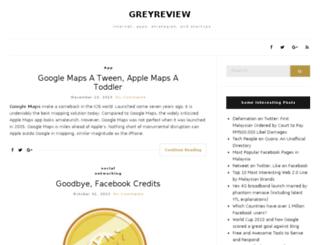 greyreview.com screenshot