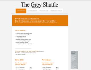 greyshuttle.com screenshot