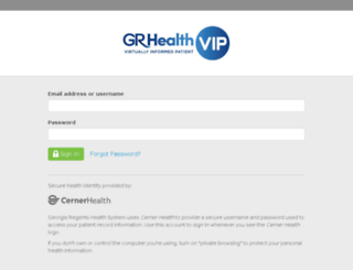 grhealth.iqhealth.com screenshot