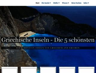 griechenland-reiseinfo.de screenshot