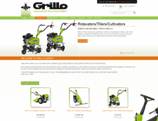 grilloag.co.uk screenshot