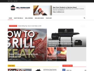 grillreviewguide.com screenshot