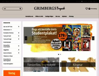grimbergstryck.se screenshot