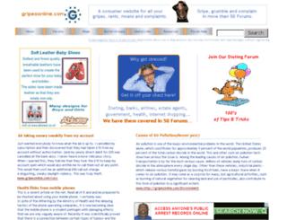 gripesonline.com screenshot