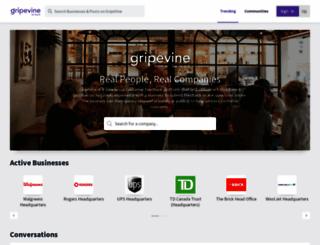 gripevines.com screenshot