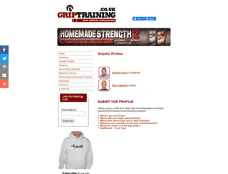 griptraining.co.uk screenshot