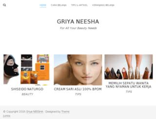 griyaneesha.com screenshot