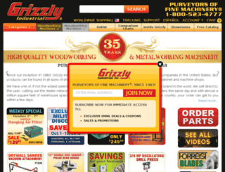 grizzley.com screenshot