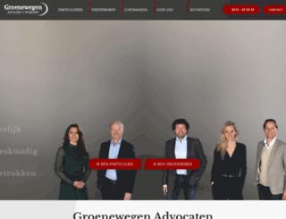 groenewegenadvocaten.nl screenshot