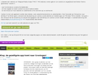 groningen.dichtbij.nl screenshot