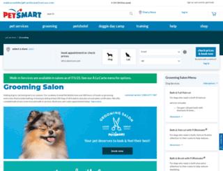 grooming.petsmart.com screenshot