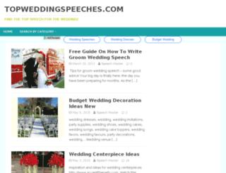 groomweddingspeechguide.org screenshot
