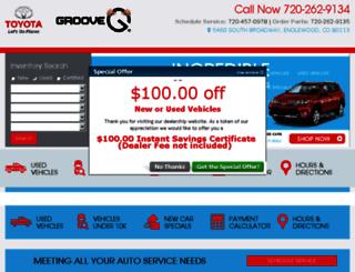 groove-toyota.calls.net screenshot