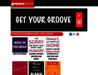 grooveshirts.com screenshot