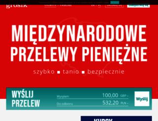 grosik.com screenshot