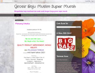 grosirbajumuslimah.com screenshot
