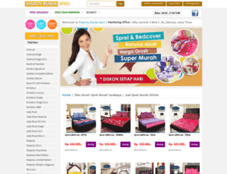 grosirspreisurabaya.net screenshot