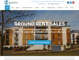 groundrentsales.co.uk screenshot