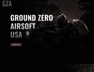 groundzeroairsoftusa.com screenshot