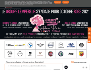 groupe-lempereur.com screenshot