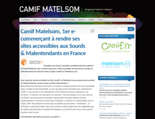 groupe-matelsom.com screenshot