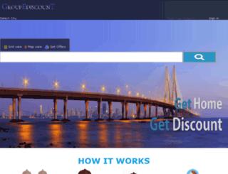 groupediscount.com screenshot