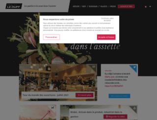 groupeleduff.fr screenshot