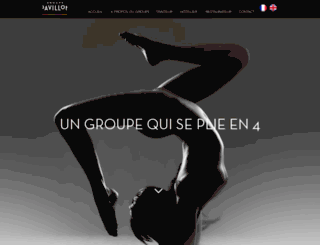 groupepavillon.fr screenshot