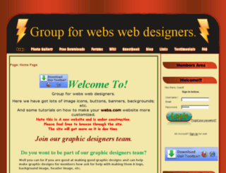 groupforwebswebdesigners.webs.com screenshot