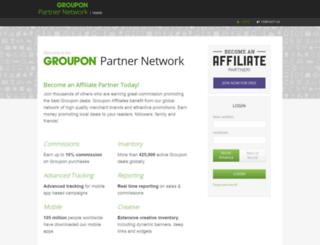 grouponaffiliate.com screenshot