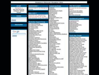 groups.allepaginas.nl screenshot