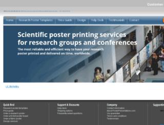 groups.posterpresentations.com screenshot