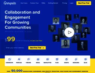 groupsite.com screenshot
