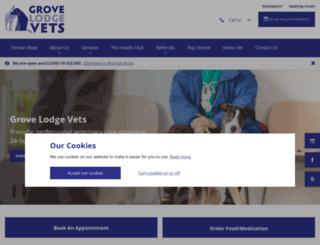grovelodge.co.uk screenshot