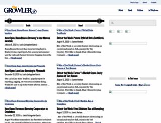 growlermag.com screenshot