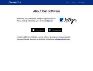 growthclick.com screenshot