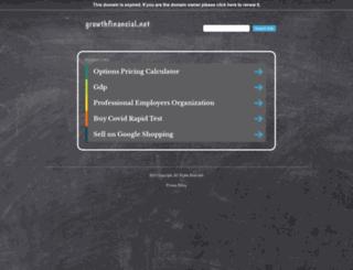 growthfinancial.net screenshot