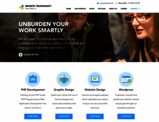growthtechnosoft.com screenshot