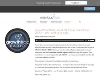 growthtracradio.com screenshot