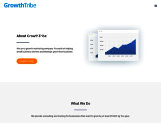 growthtribe.com screenshot
