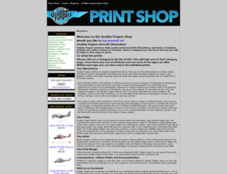 grubbyfingersshop.com screenshot