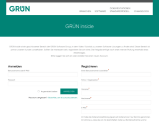 gruen-ag.de screenshot