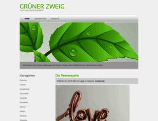 gruenerzweig.ch screenshot