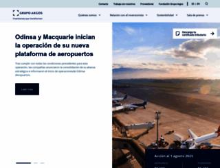 grupoargos.com screenshot