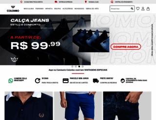 grupocolombo.com.br screenshot