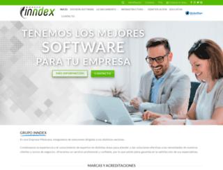 grupoinndex.com screenshot