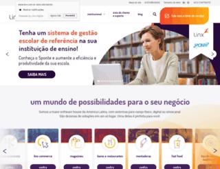 grupolinx.com.br screenshot