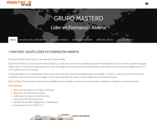 grupomasterd.es screenshot
