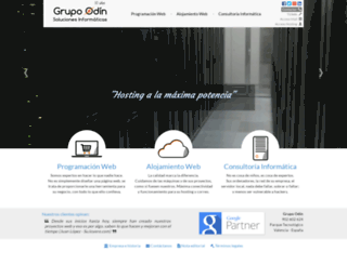 grupoodin.es screenshot