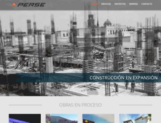 grupoperse.com screenshot